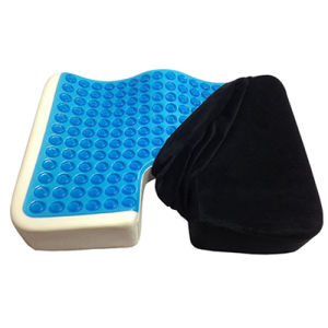 Wholesale Perfect Posture Prostate Wheelchair Silicone Cooling Coccyx Memory Foam Orthopedic Meditation Gel Car Seat Cushion