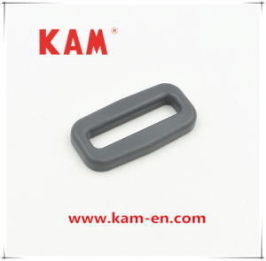 Plastic Adjustable Kam Strap Belt Buckle for Bags with Rectangle Shape