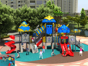Kaiqi Medium Sized Cool Robot Themed Children′s Outdoor Playground - Available in Many Colours (KQ50065A) pictures & photos