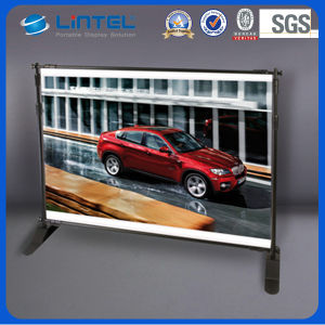 Large Scale Backwall Telescopic Banner Stand (LT-21) pictures & photos