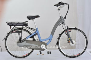 Front Wheel Motor 36V 250W Rear Carrier Battery Electric Bike