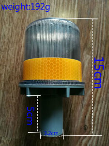 Red Blue LED Solar Flash Warning Light pictures & photos