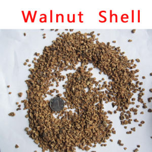 1-2mm Walnut Shell Media for Oil Remove From Water pictures & photos