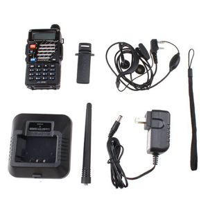 Lowest Price Baofeng UV-5re Black VHF136-174&UHF400-520MHz Two Way Ham Radio Hf Transceiver pictures & photos