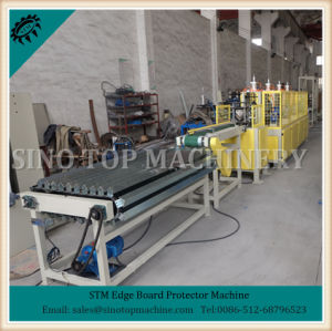 Edgeboard and Corner Board Machine with Noching pictures & photos