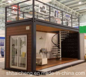 Modular Houses Made From Flat Pack Containers pictures & photos