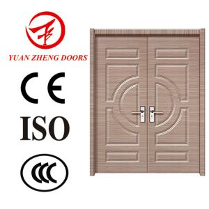 Wood Bedroom Door PVC Toilet Door PVC Bathroom Door Price pictures & photos