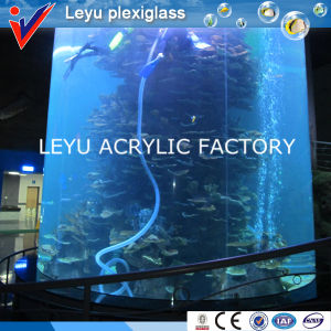 Clear Acrylic Fish Tank for Hotel Project