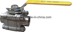 2pc forged steel NPT ball valve pictures & photos