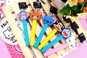 2015 The Best Seller Cartoon Colorful Dk-009 Wired Sfelfie Stick, Selfie Stick with Cable.