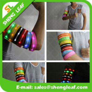 Lighted up Flashing LED Arm Belt Arm Wristbands for Sport