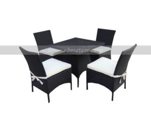 Mtc-199 Outdoor Rattan Dining Table with Chair Wicker Furniture