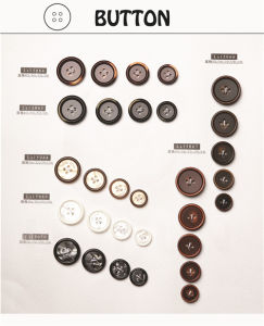 Resin Trousers Button Fruit & Urea & Mirror Face & Ox Horn Button for Clothing/Garment/Shoes/Bag/Case pictures & photos