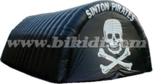 Inflatable Tunnel Tent, Commercial Use Inflatable Black Dome Tent K5059 pictures & photos