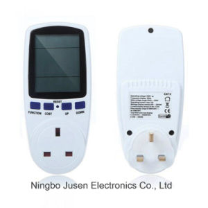 England Plug in Energy Meter Watt Voltage Volt Meter Monitor Analyzer Power Meter pictures & photos