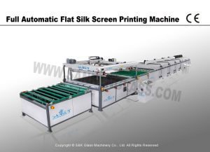 Automatic Silk Screen Printer for Glass Printing Line pictures & photos