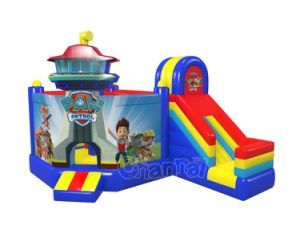 New Cartoon 5 in 1 Combo Inflatable Bouncer with Slide Chb1156