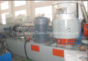 Two Stage Single Screw Extruder Water Ring Pelletizing Line pictures & photos