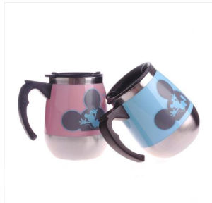 Durable Personized Staineless Steel Beer Mug with Handle pictures & photos