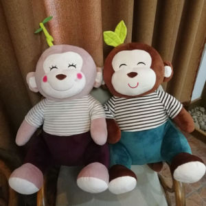 Customized Monkey Soft Toy Promotion Gift Supplier