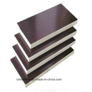 China Waterproof Pine Film Faced Plywood Sheetpine Plywood For