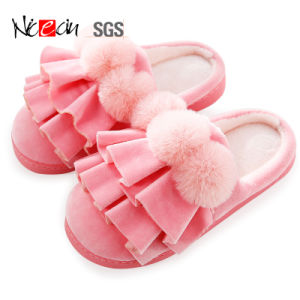 Women Men Indoor Slipper Home Warm Cotton House Slippers Shoes Sandals Anti-Slip
