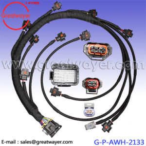 Excellent China Mazda 42 Pin Ecu Connector Engine Wiring Harness China Mazda Wiring Database Gramgelartorg