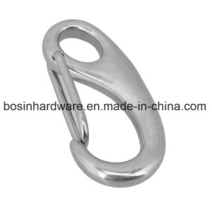 50mm Stainless Steel Egg Shaped Spring Clip Hook pictures & photos