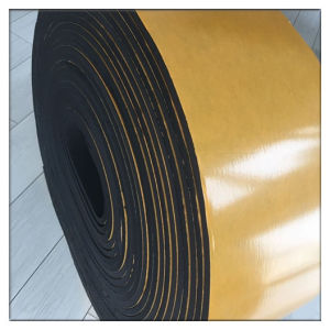 Sealing and Gasket Closed Cell EPDM Rubber Foam Roll pictures & photos