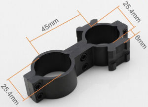 Tactical Military 8-Shaped Mounts Holders W/ Dual 25mm Weaver Rail pictures & photos