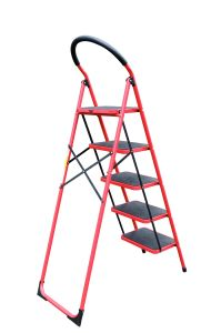 Steel Step Ladder 5 Steps pictures & photos