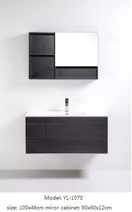 MDF Bathroom Cabinet with Mirror