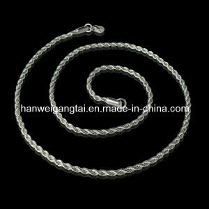 Stainless Steel Jewelry, Steel Rope Chain pictures & photos