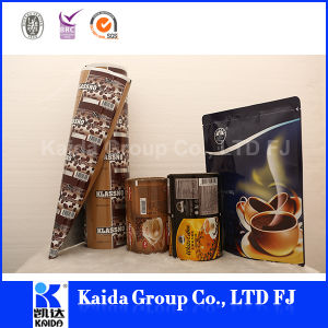 Aluminum Plastic Stand up Coffee Food Packaging Gusset Bag pictures & photos