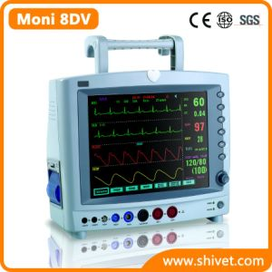 Portable Animal Monitor Veterinary Monitor (Moni 8DV) pictures & photos