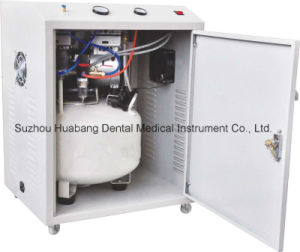 Dental Compressor with Air Drier in The Cabinet