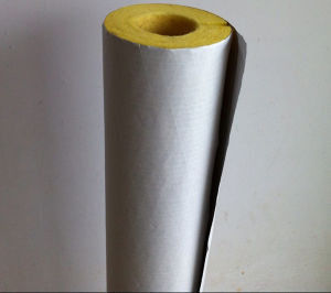 Glasswool Pipe with Aluminum Foil for Heat and Cold Insulation pictures & photos