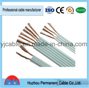 Best Quality PVC Insulated and Sheathed Flexible Flat Wire Rvvb Power Cable Price pictures & photos