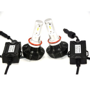 6500K 8000LM H7 LED Headlights Bulbs Car Motorbike Replacement Lamps of Halogen and Xenon HID Kit