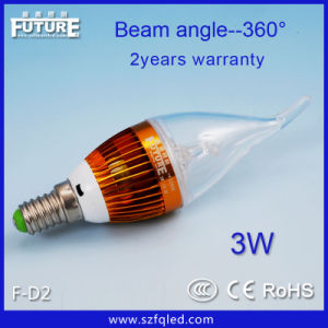 High Power 3W LED Chili Light Bulb E27/E14 (F-D2)