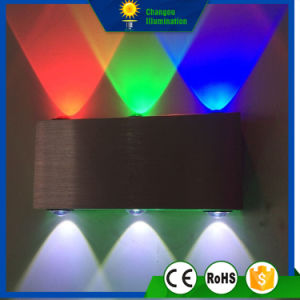 6W Square Display LED Wall Light