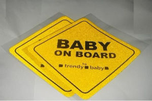 Baby on Board Reflective Sticker for Safety pictures & photos