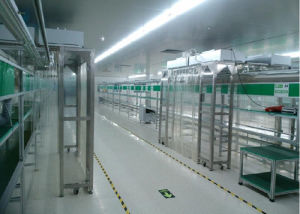 Clean Booth Used for Assembly Line in Cleanroom