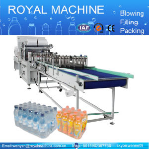 20packs/Min Linear PE Film Shrink Packing Machine Wrapper Supplier pictures & photos