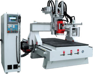 Factory Supply Wood Stone Marble Granite Full Automatic CNC Router Machine pictures & photos
