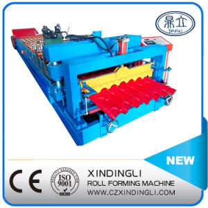 Russian Popular Style Automatic Glazed Tile Roof Sheet Roll Forming Machine pictures & photos