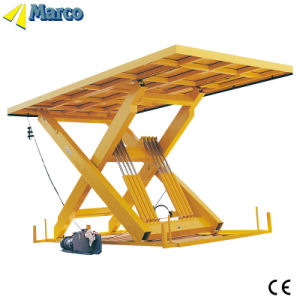 Marco Single Scissor Lift Table with CE Approved pictures & photos