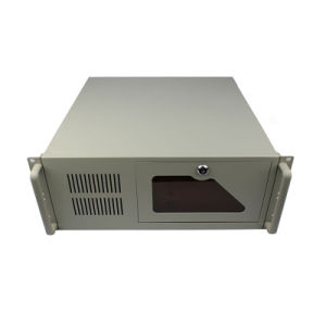 4u Ipc Rackmount Case 19 Inch Industrial Server Chassis for ATX MB