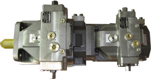 Hydraulic Pump Group (A4VSO125+A4VSO71)