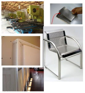 High Quality Stainless Steel Decoration Perforated Metal Mesh (JEC89003)